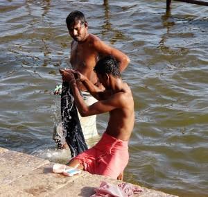 Foto 5: Am Cauvery-Fluss