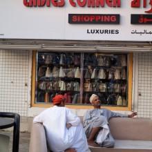 Schwätzchen, Ladies Corner in Mutrah