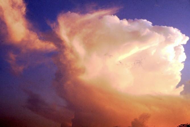 Monsoon cloud over Western Ghats (ca. 1984)