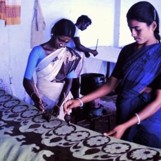 Stärkung dörflichen Handwerks in Gandhigram