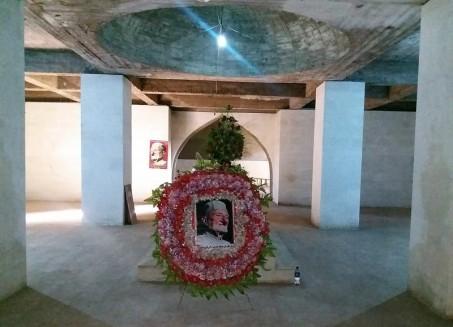 Das Grabmal Ghaffar Khans in Jalalabad, Afghanistan, Januar 2018