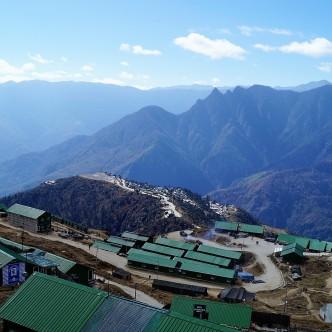 Lager der indischen Armee in Arunachal Pradesh