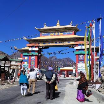 Grenze zum Tawang Distrikt (Arunachal)