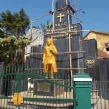 Statue von Bartholomäus Ziegenbalg