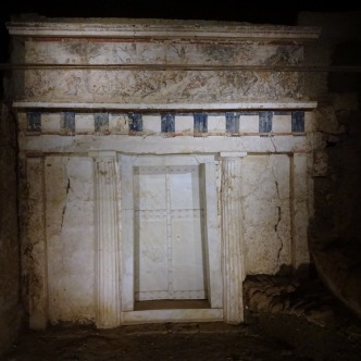 Grab Philipps II, dem Vater Alexanders
