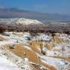 Kappadokien: Landschaft mit Puderzucker