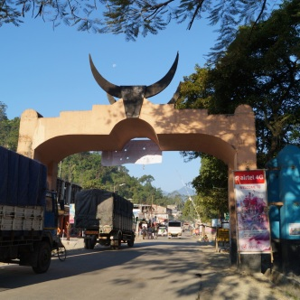 Grenztor zu Arunachal Pradesh