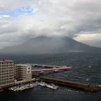Der Vulkan vorm Fenster
