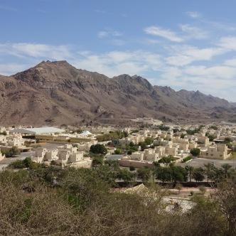 Hatta an der Grenze zu Oman