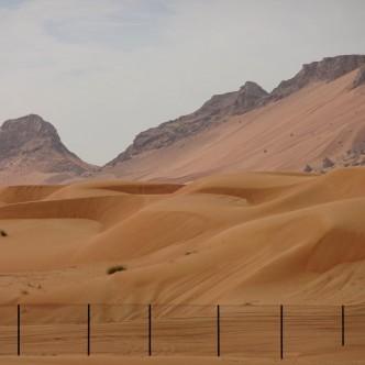Richtung Oman
